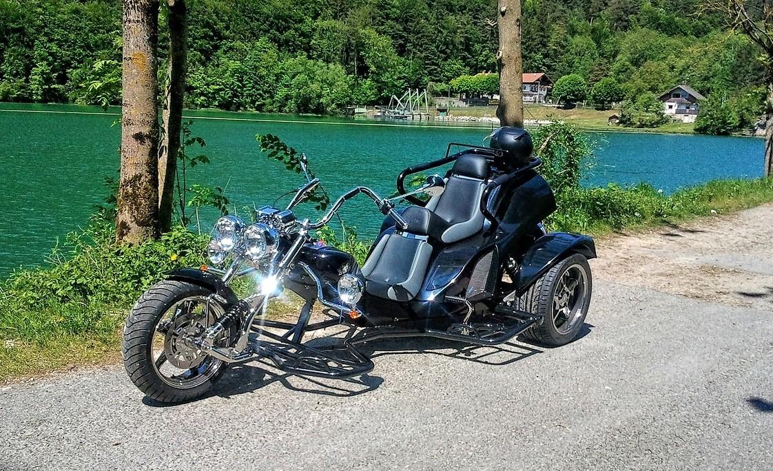 Trike am See
